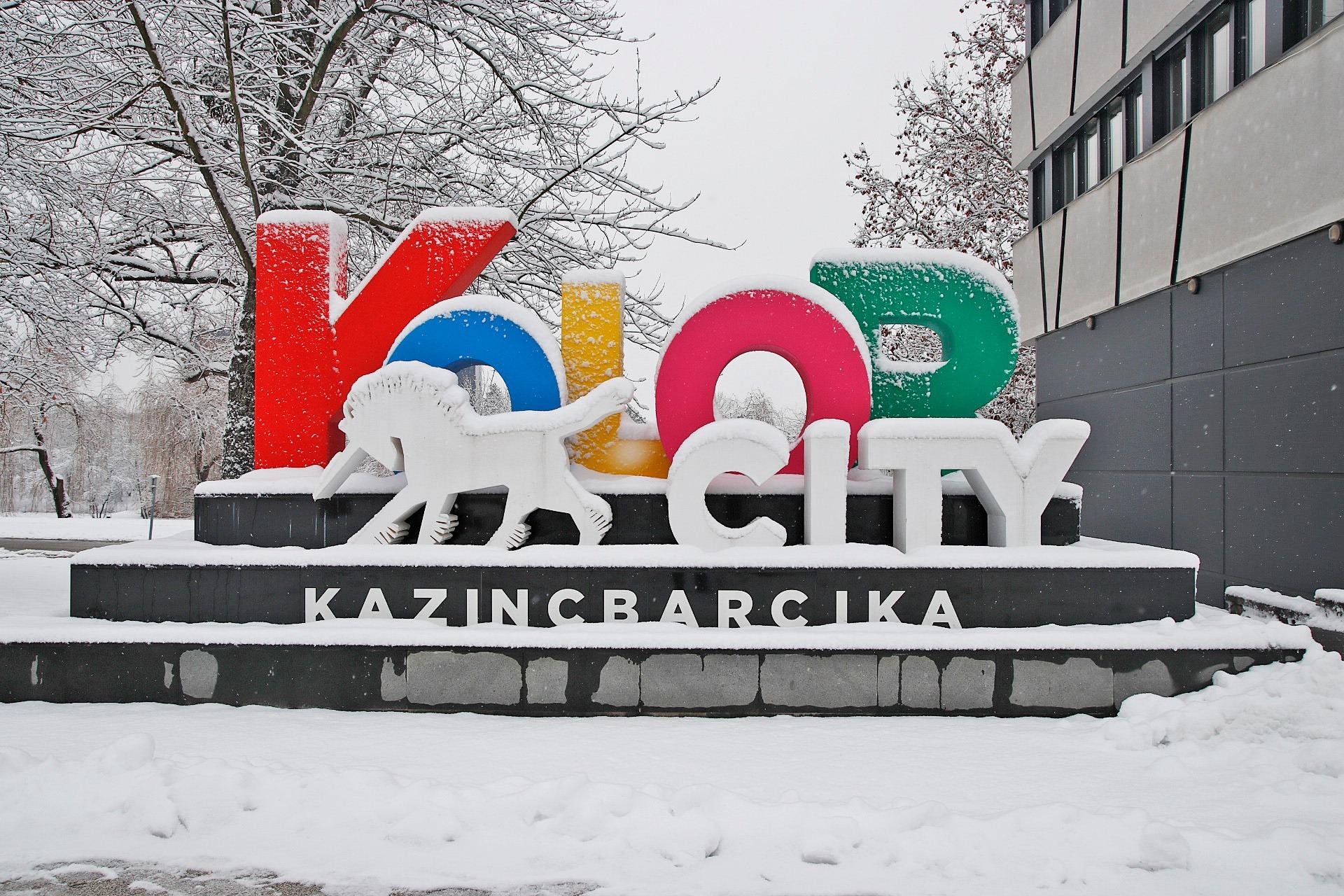 Havas képek Kazincbarcikáról