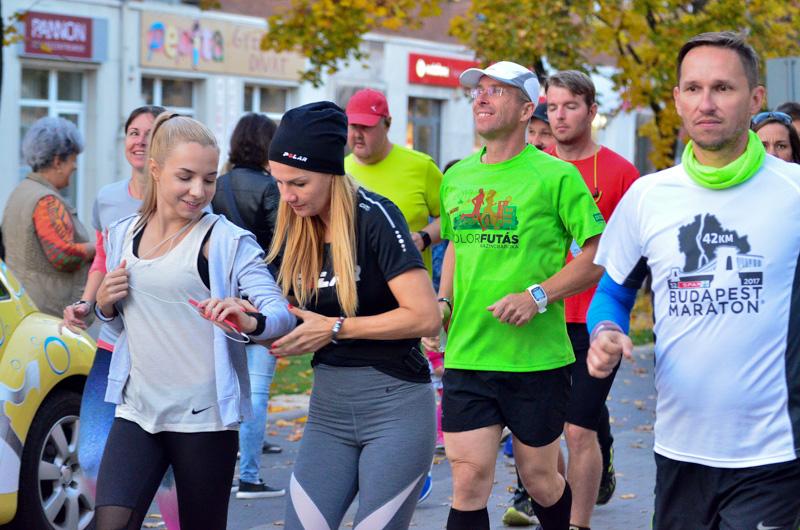 Közösségi futás Kazincbarcikán