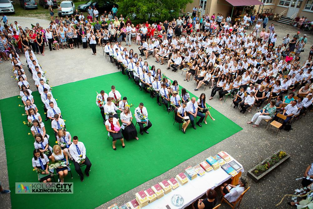 Ballagás és évzáró a Pollack Mihály Általános Iskolában