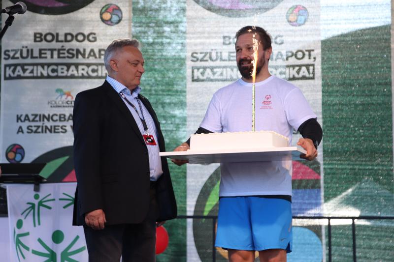 A Magyar Speciális Olimpia Szövetség 30. születésnapja - Autómentes Nap