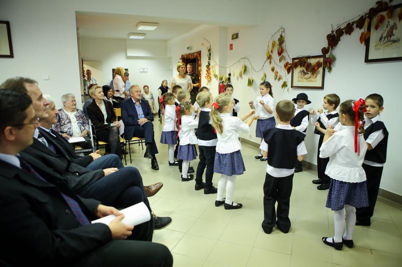 Idősek napi ünnepség a  Muskátli Nyugdíjasházban