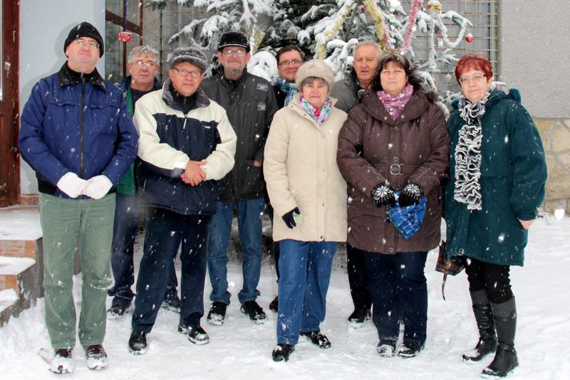 Adomány a KSZSZK-nak Felső-Barcikán