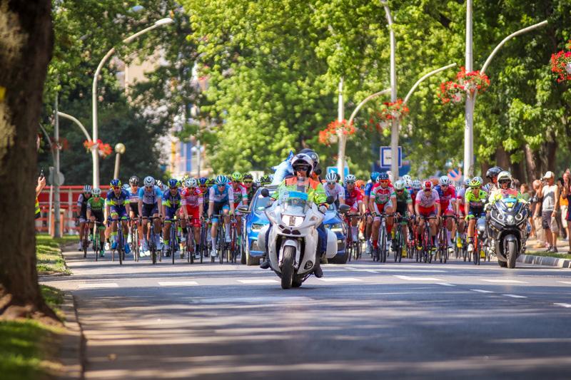 Tour de Hongrie 2019 - Mátyás Király úti szurkolói zóna