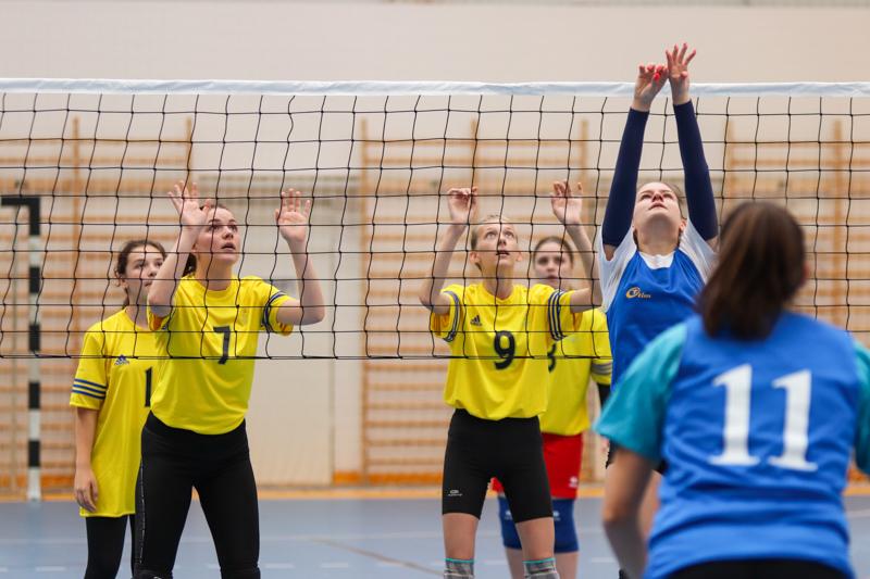Országos Leány Röplabda Diákolimpia Elődöntő Kazincbarcikán
