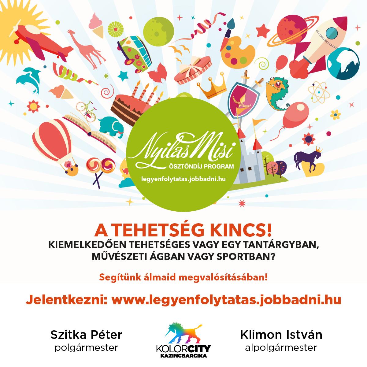 https://kolorline.hu/Nyilas Misi Ösztöndíj Program – A tehetség kincs!