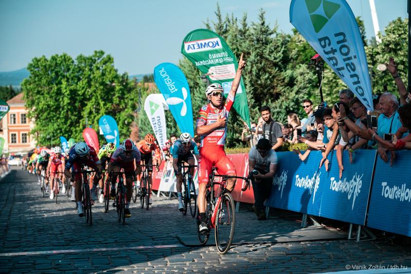 https://kolorline.hu/A 2018-as bajnok Belletti nyerte a Tour De Hongrie első szakaszát
