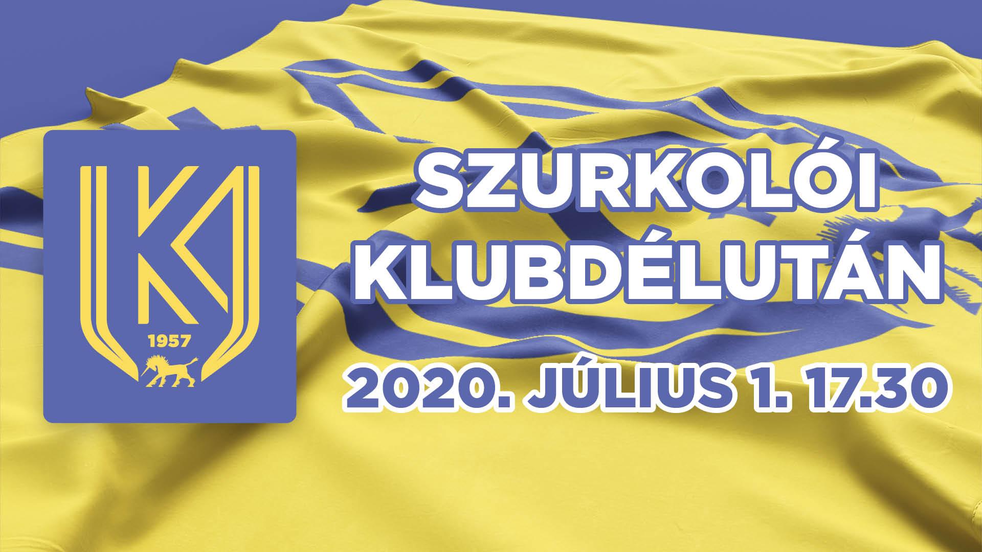 https://kolorline.hu/Szurkolói klubdélutánra várják az érdeklődőket
