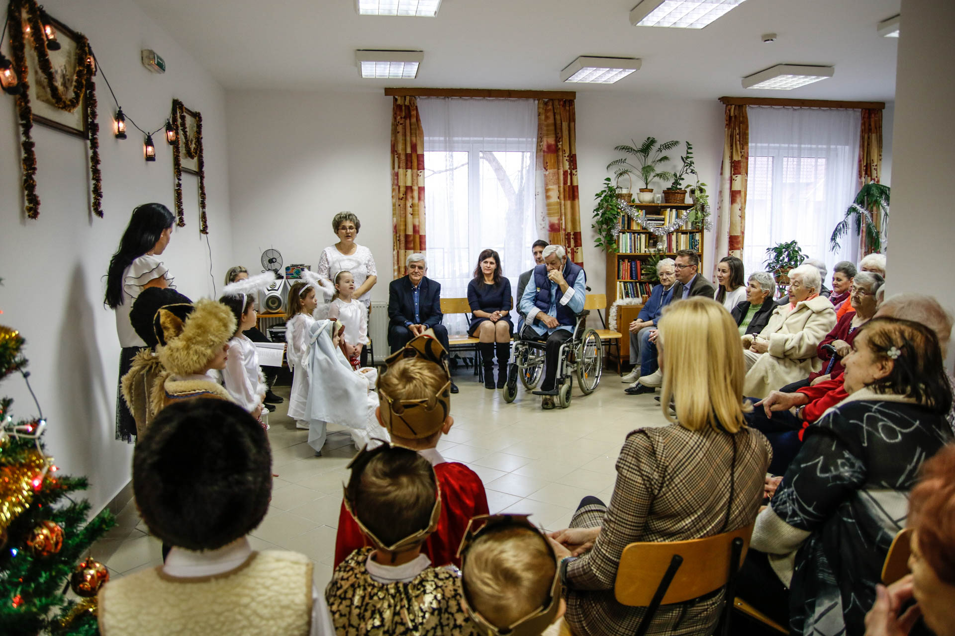 Muskátli nyugdíjasház - Karácsony