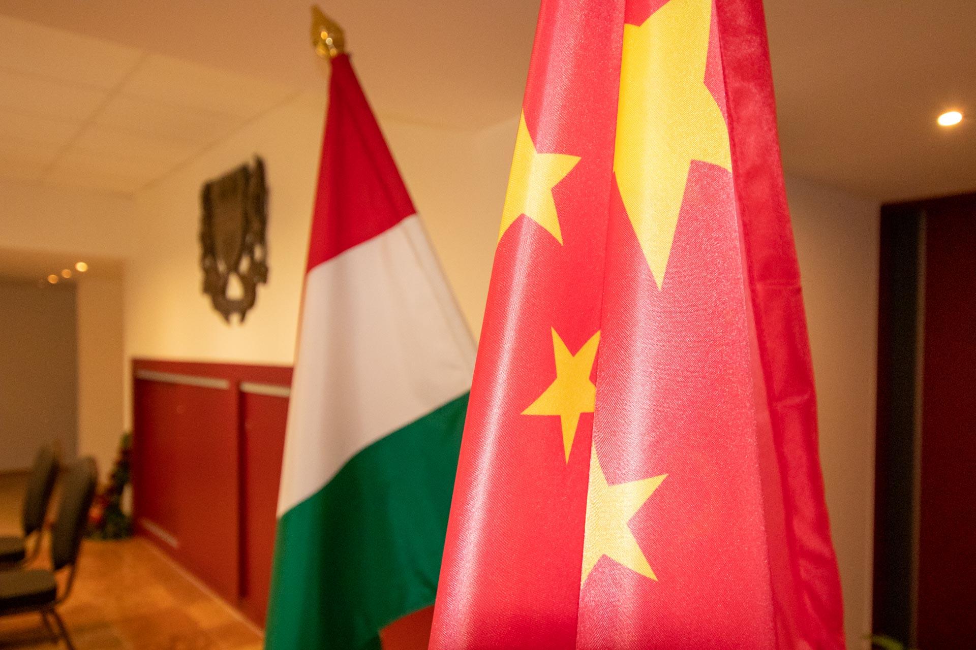 Kínai delegáció látogatása Kazincbarcikán