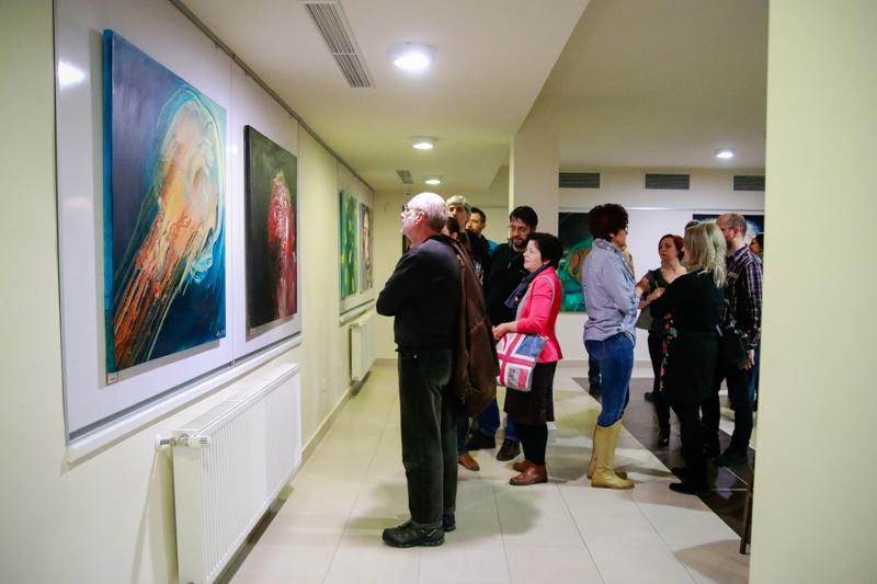 Kin Gábor - Örömpiszok c. kiállítása