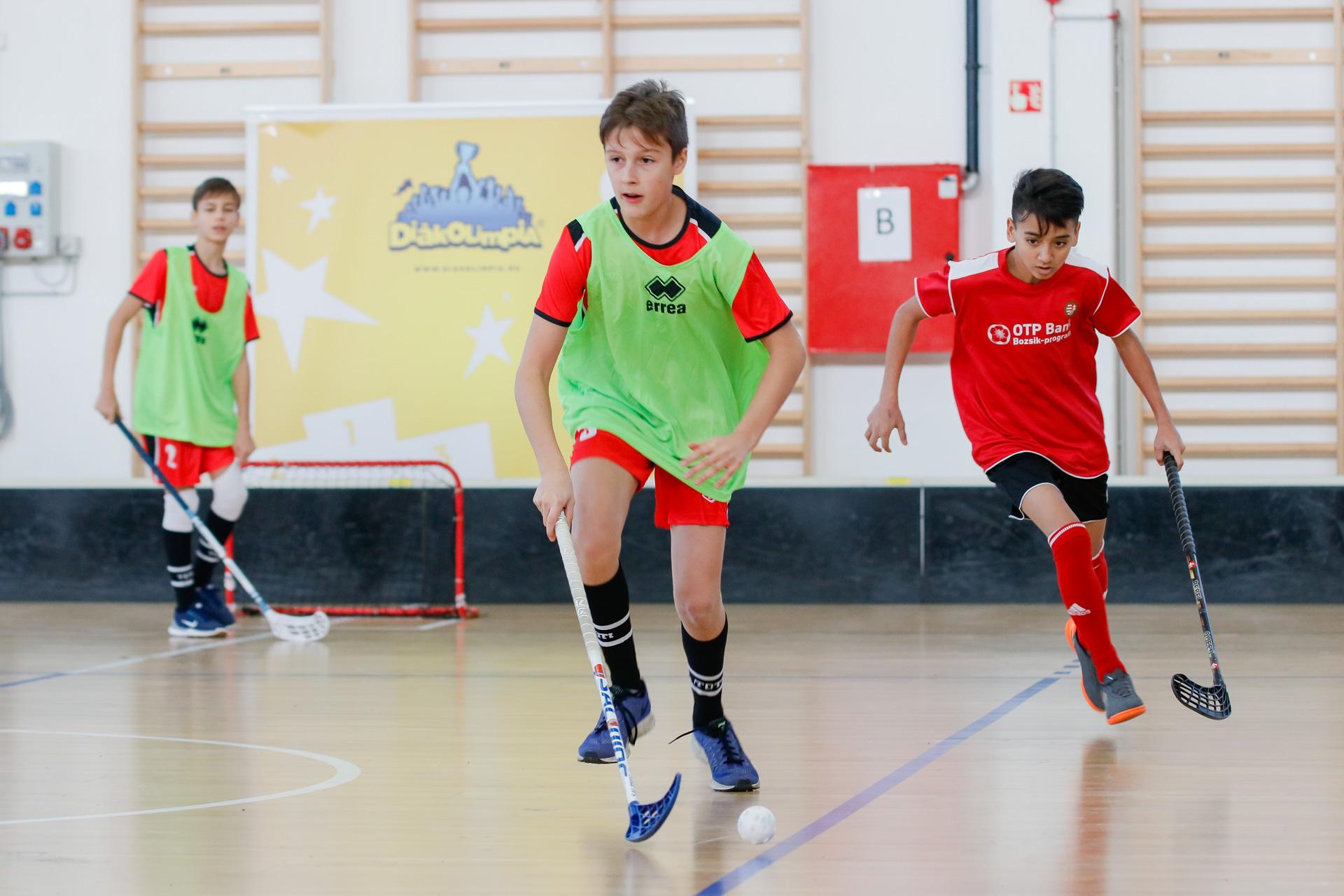 Országos Floorball Diákolimpia Elődöntő