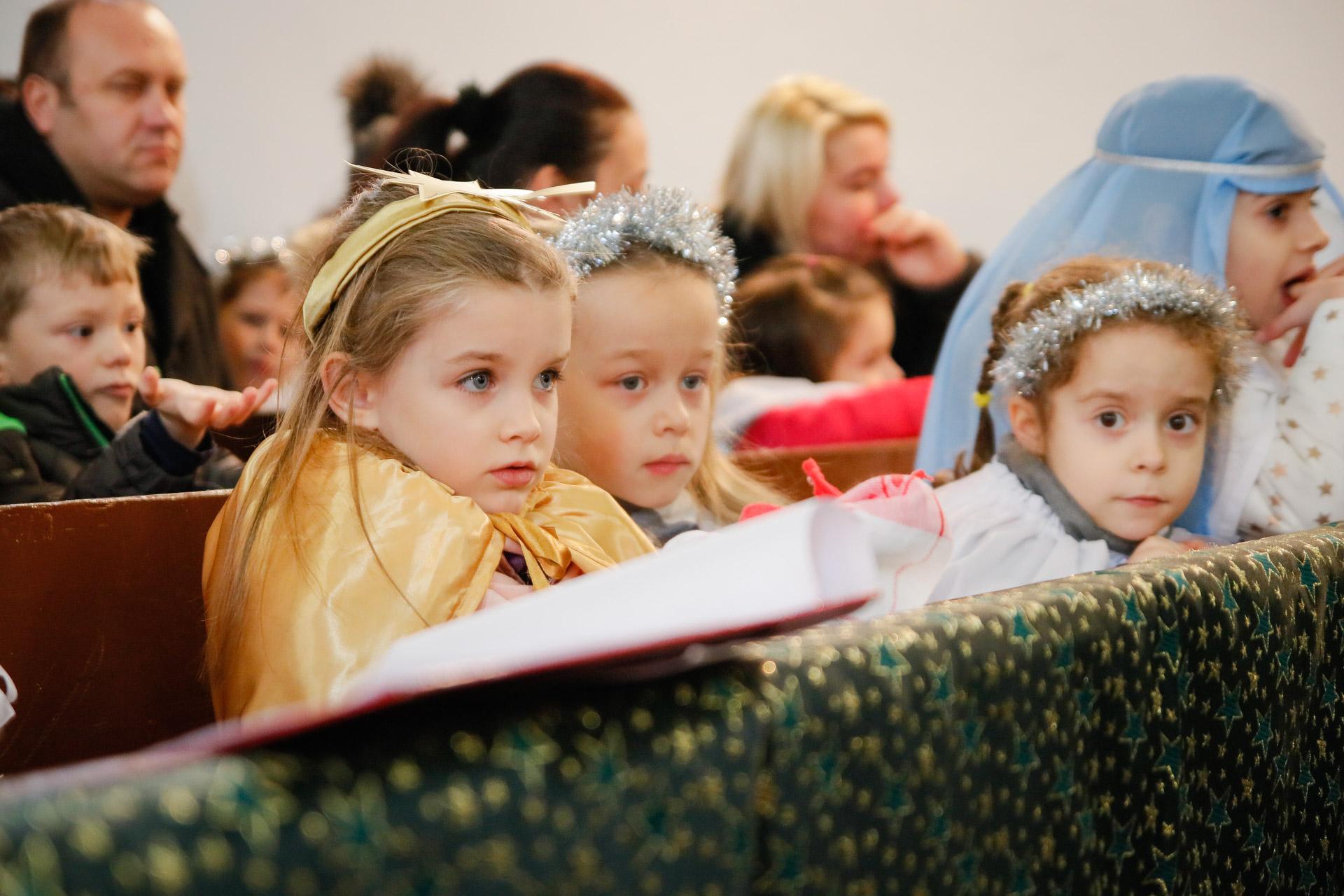 Karácsonyi hangverseny - Kazincbarcikai Összevont Óvodák
