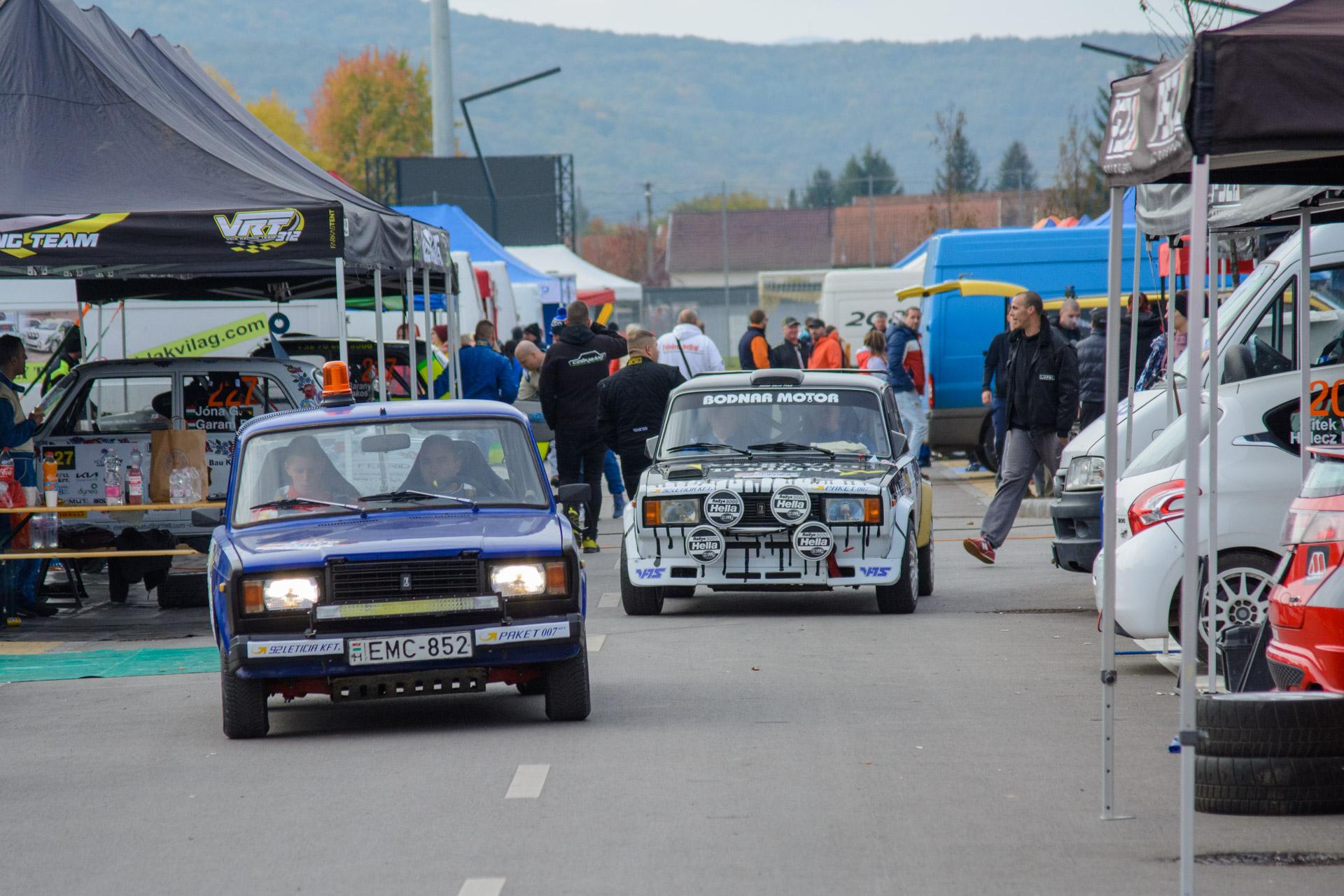 Kazincbarcika Rally (szervizpark)