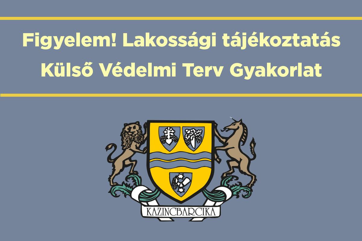 https://kolorline.hu/Figyelem! Lakossági tájékoztatás Külső Védelmi Terv Gyakorlat