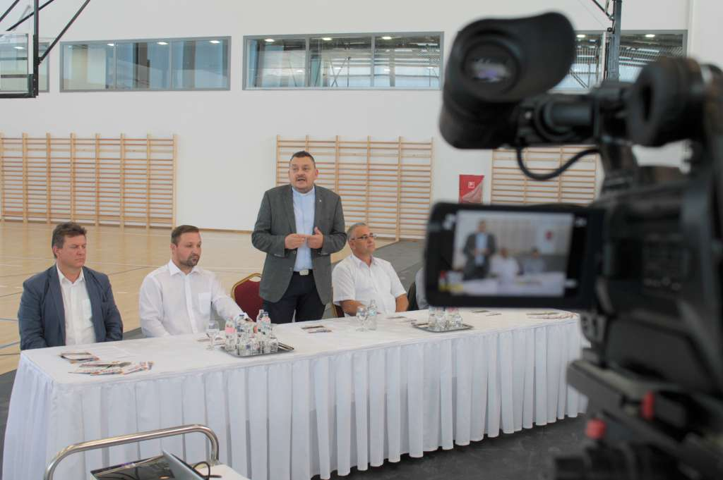 Sajtótájékoztató és bejárás a Don Bosco Sportközpontban