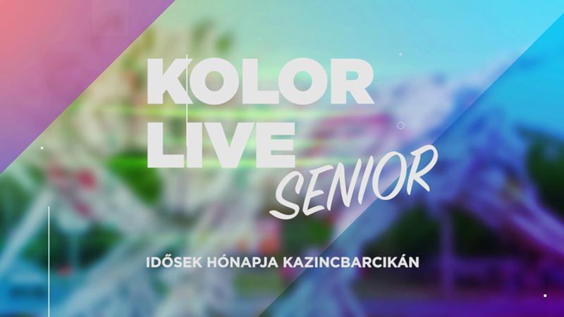 https://kolorline.hu/Pénteken várja Önöket a Kolorlive Senior