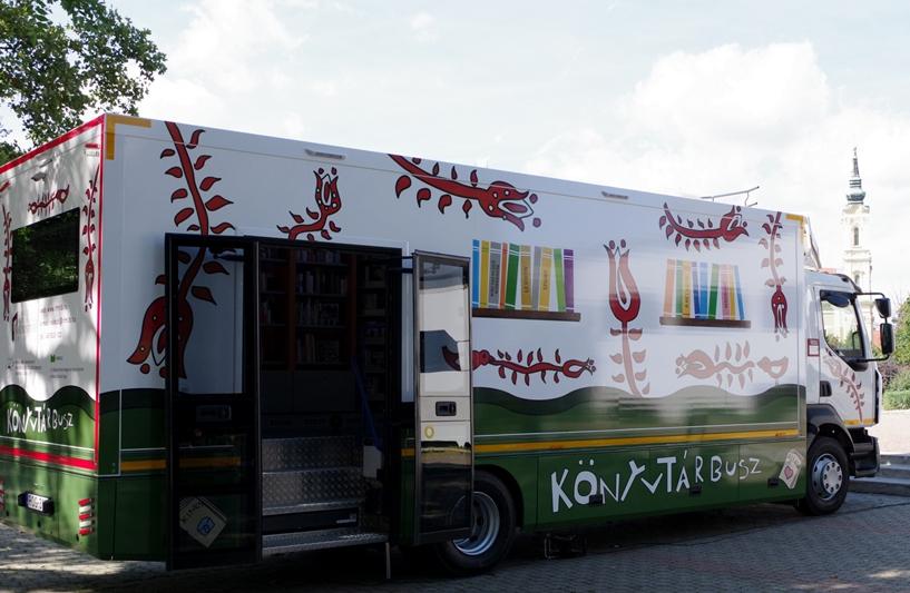 https://kolorline.hu/Újból róják a megyei kistelepülések útjait a könyvtárbuszok