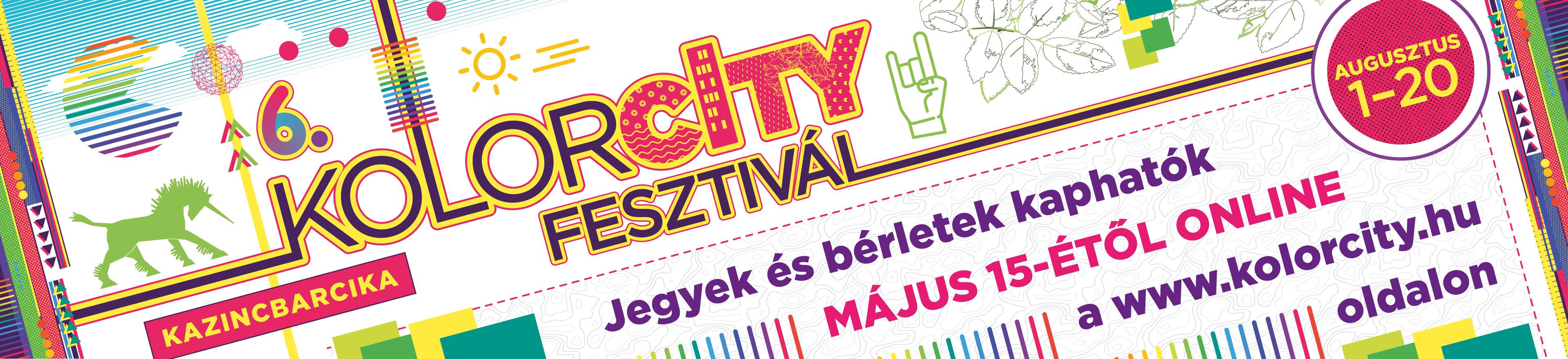 6. Kolorcity Fesztivál