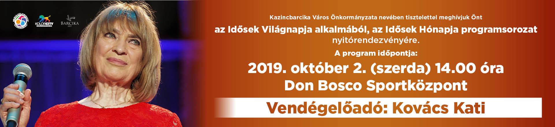 Kovács Kati - Idősek napja
