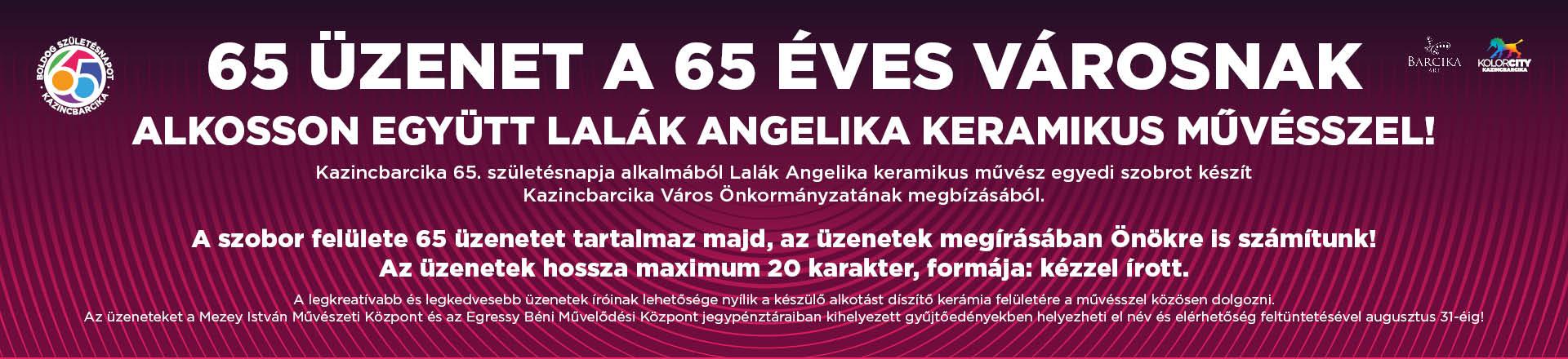 65 üzenet